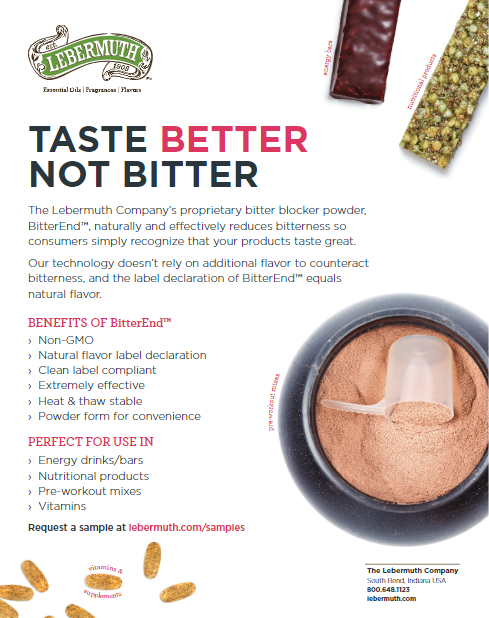 Help your products taste better, not bitter