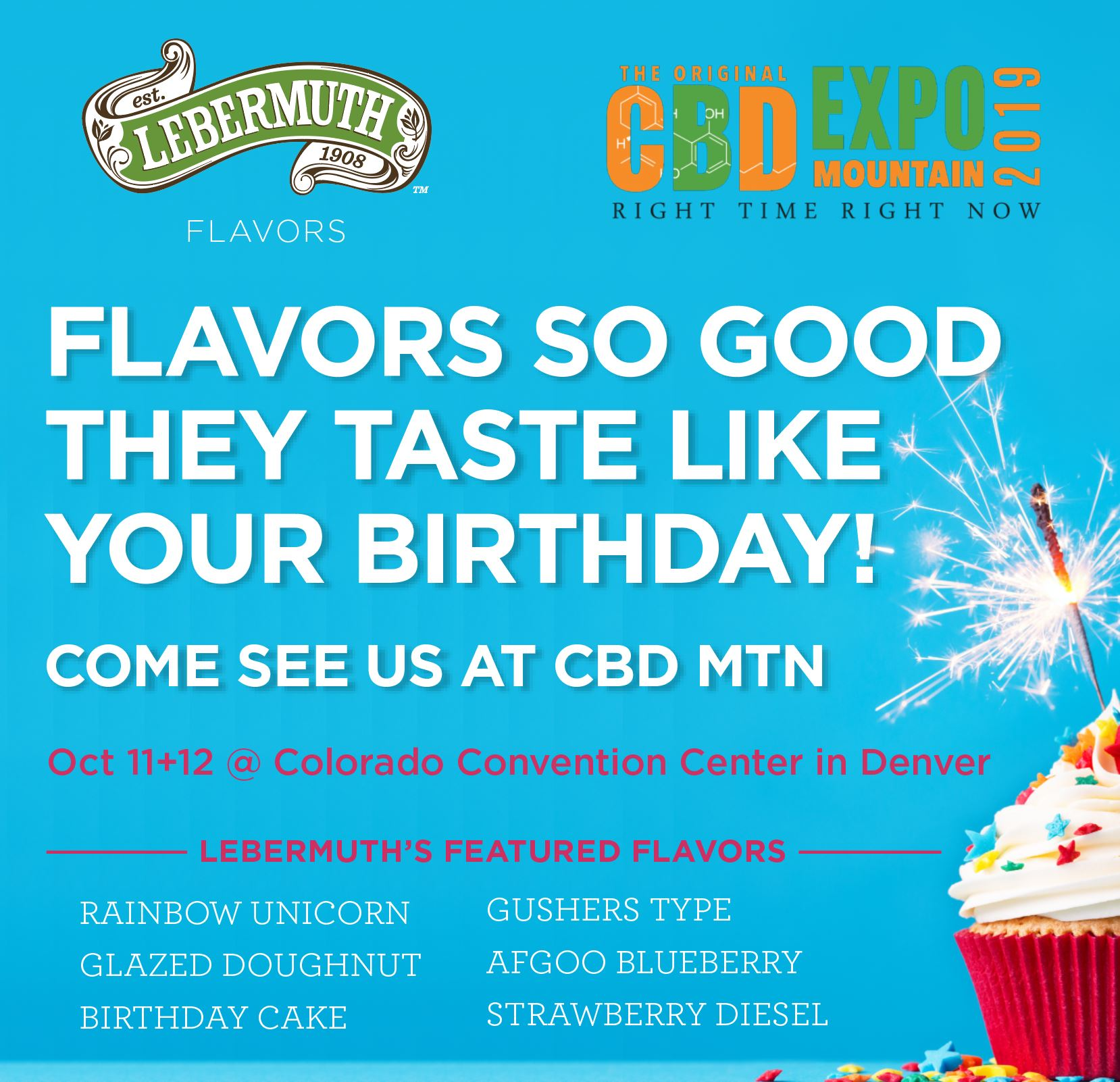 Come see us at CBD Expo in Denver!