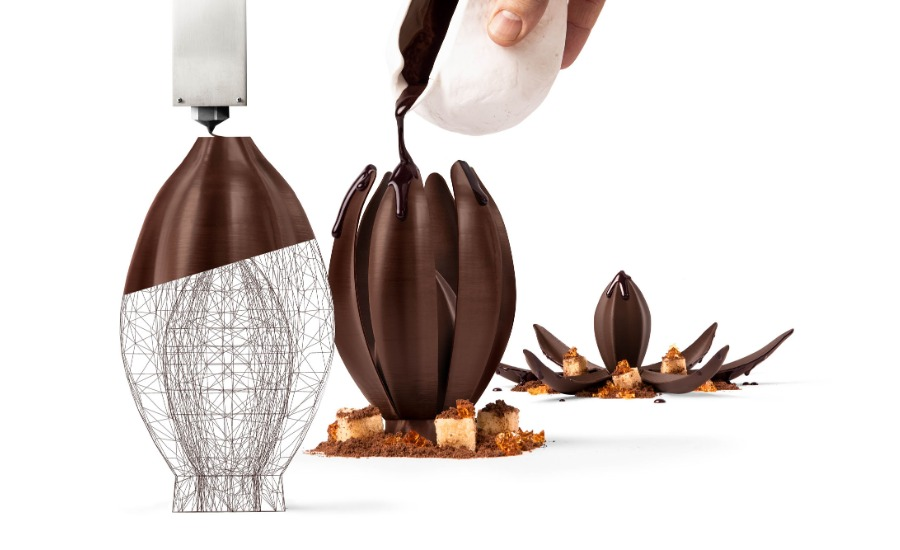 Barry Callebaut opens world's first 3D chocolate printing studio