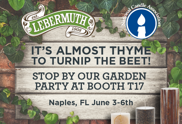 Stop by our garden party at NCA in Naples June 3-6